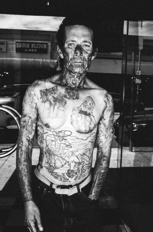 R0062877 530x800 Street Photography Contact Sheets #1: Face Tattoo, Downtown LA 2014