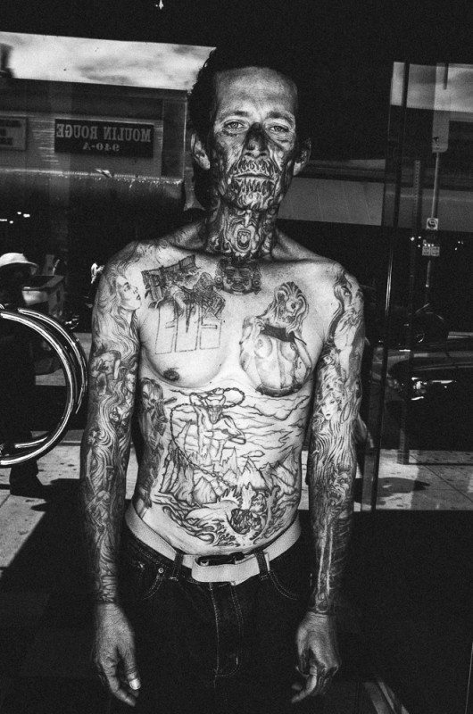 R0062878 530x800 Street Photography Contact Sheets #1: Face Tattoo, Downtown LA 2014