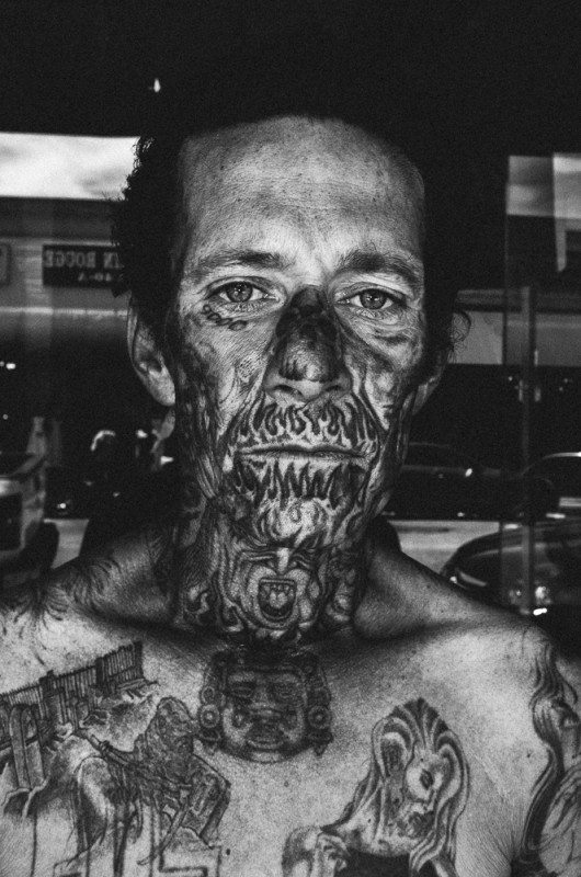 R0062879 530x800 Street Photography Contact Sheets #1: Face Tattoo, Downtown LA 2014