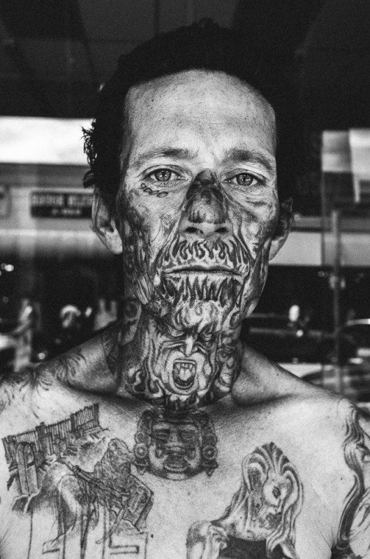 R0062882 530x800 Street Photography Contact Sheets #1: Face Tattoo, Downtown LA 2014