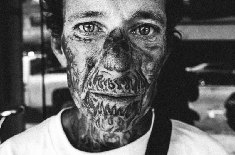 R0062888 800x530 Street Photography Contact Sheets #1: Face Tattoo, Downtown LA 2014