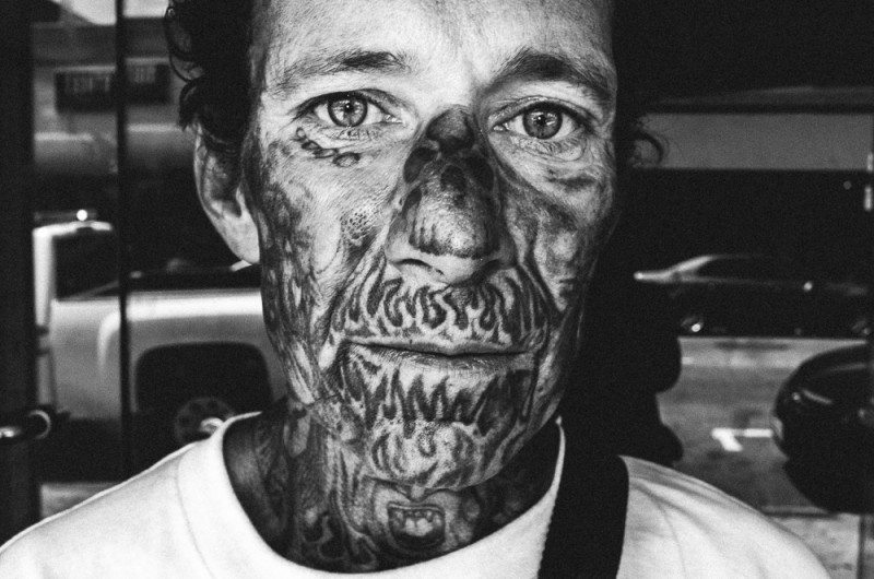 R0062889 800x530 Street Photography Contact Sheets #1: Face Tattoo, Downtown LA 2014