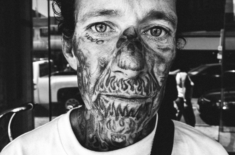R0062890 800x529 Street Photography Contact Sheets #1: Face Tattoo, Downtown LA 2014