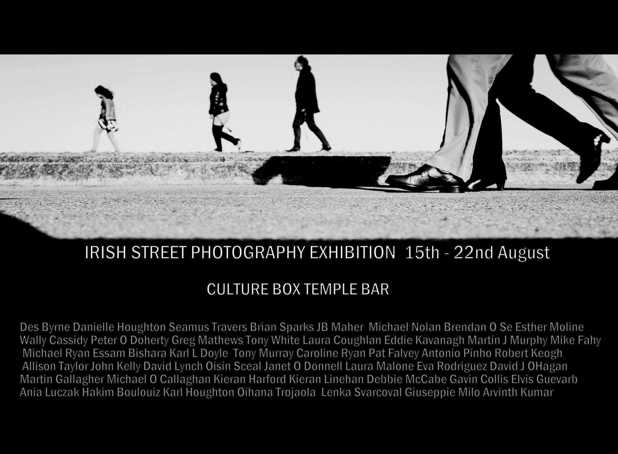 Irish Photography on Center Stage! Irish Street Photography Exhibition 15th-22nd of August