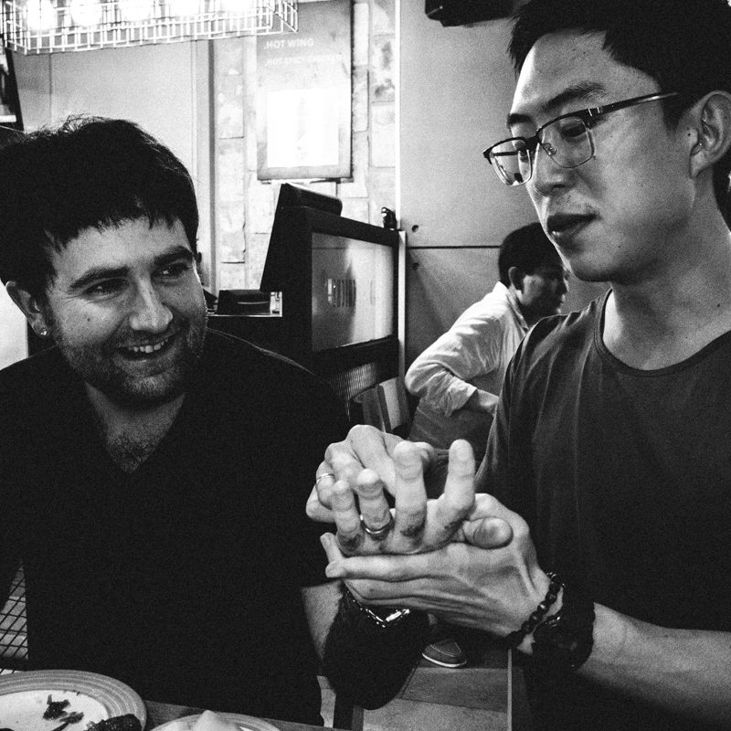 R0101453 Seoul Diary, 2014: Josh White and Documenting my Personal Journey