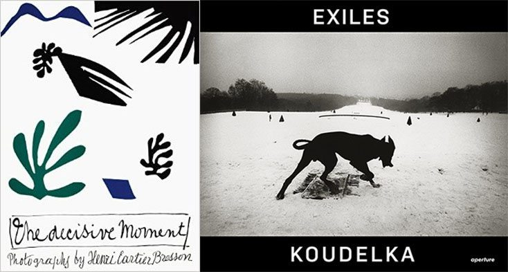 "Must-Buy Books: ""The Decisive Moment"" by Henri Cartier-Bresson and ""Exiles"" by Josef Koudelka"