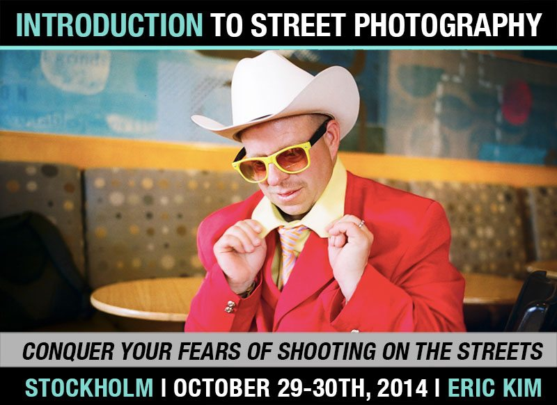 Stocholm workshop 2014 Dont Miss Your Chance: Introduction to Street Photography Workshop in Stockholm (October 29 30th, 2014)