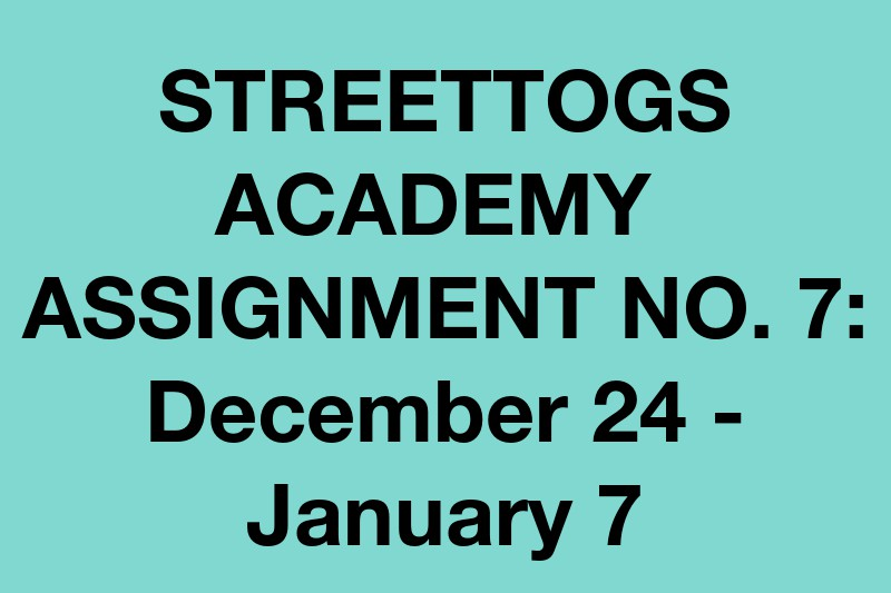 Streettogs Academy No. 7