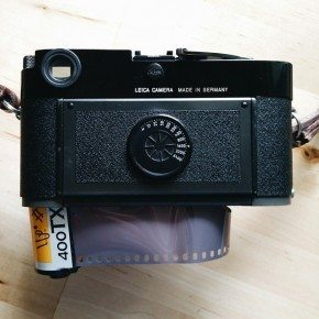 Kodak Tri-X pushed to 1600, locked and loaded.