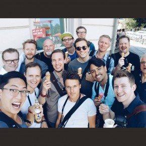Group selfie from my Berlin