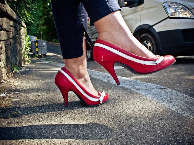 Street Photography Shoes by Eric Kim