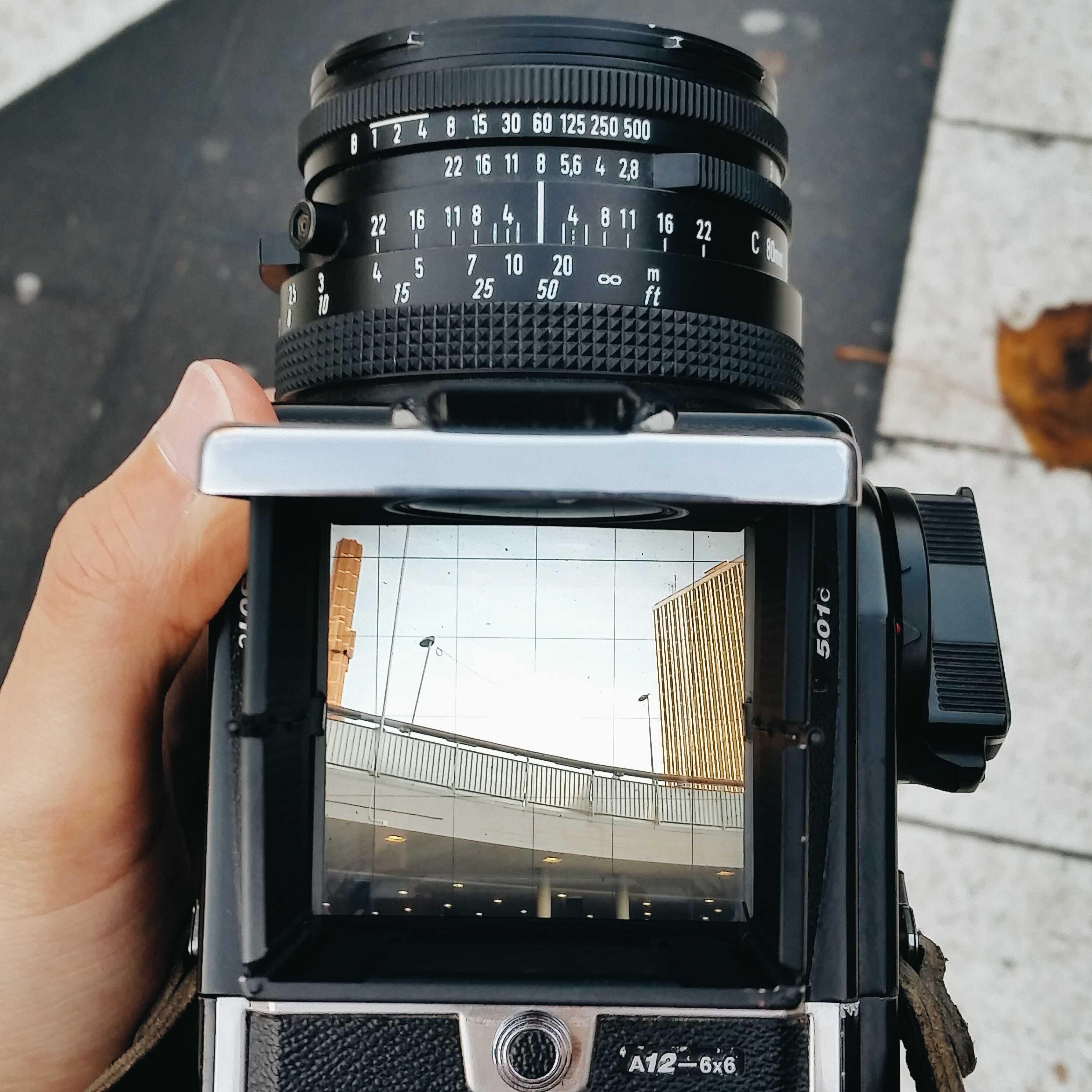Как фотографировать архитектуру на средний формат