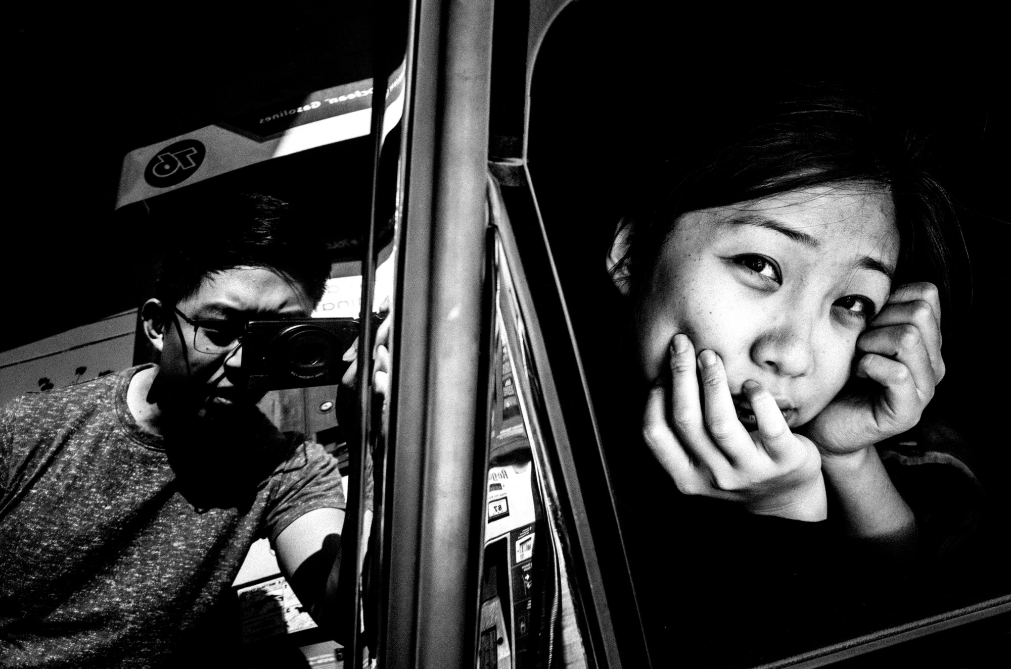 Cindy Project Monochrome-12 black and white
