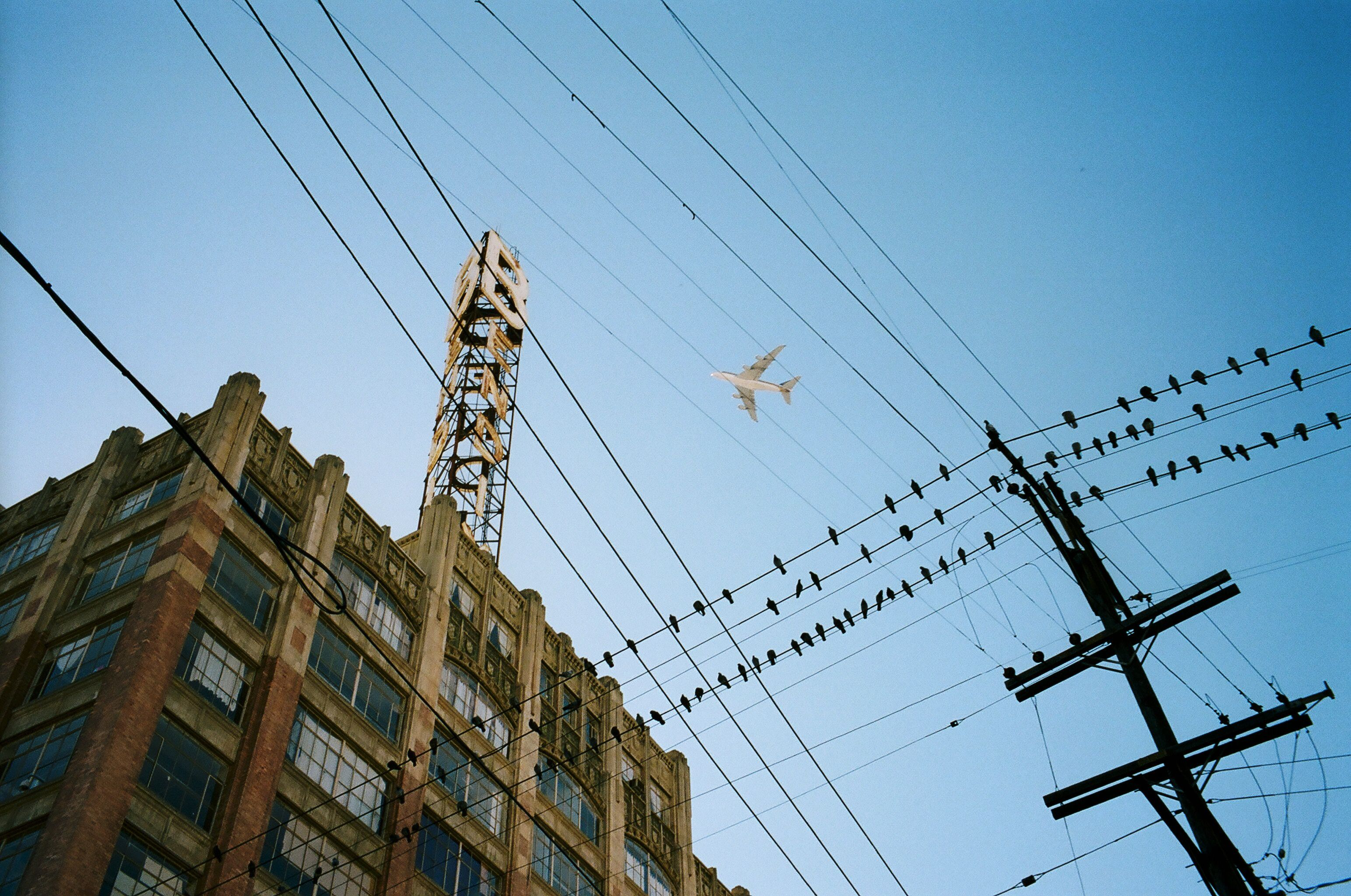 eric kim color chroma airplane downtown la poles