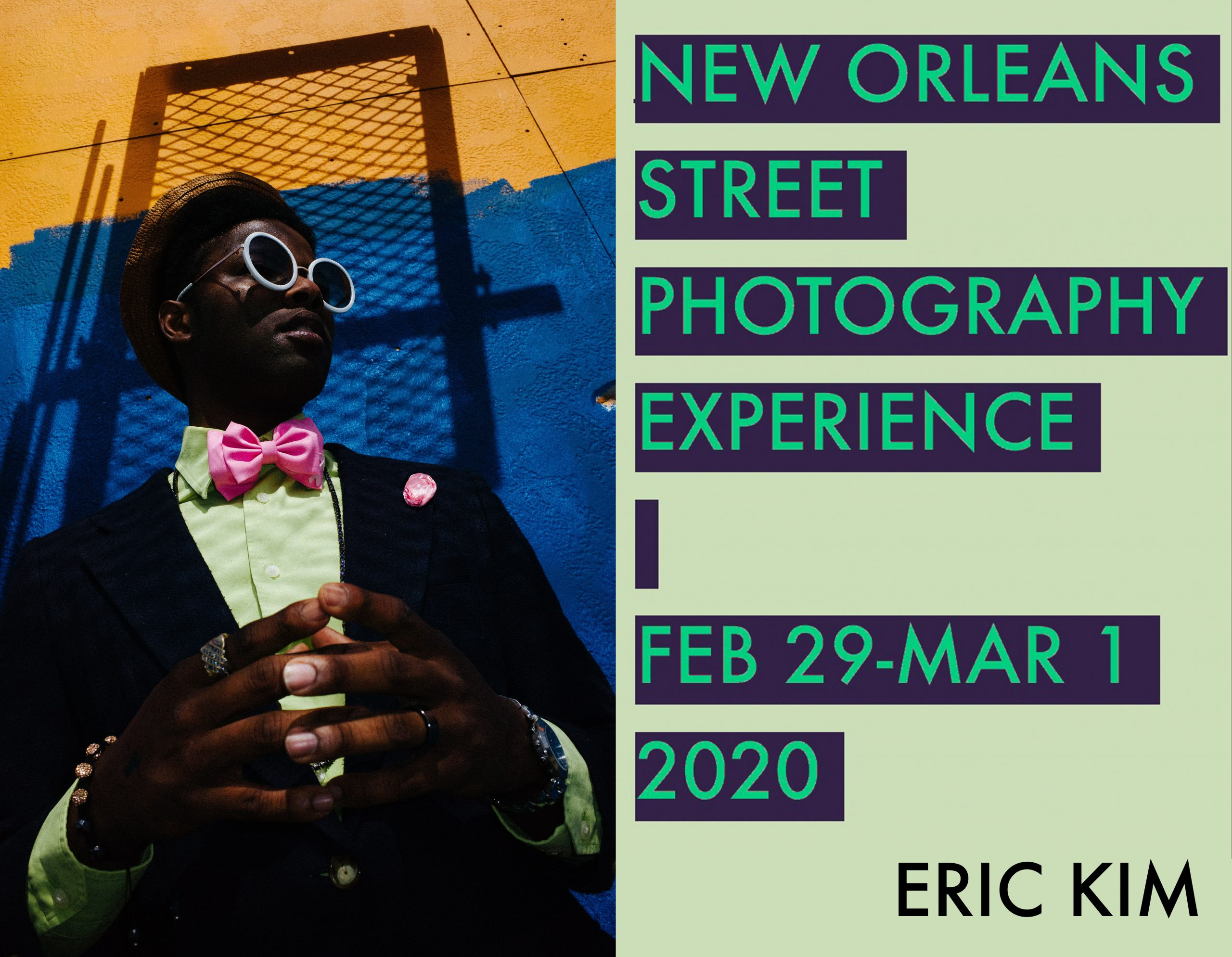eric kim new orleans workshop 2020